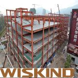 Construção de aço portal do frame da alta qualidade pré-fabricada