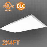 Luz listada do ecrã plano do diodo emissor de luz 2X2/1X4/2X4 do UL Dlc de ETL, 100-130lm/W,