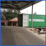 Decking plástico al aire libre del compuesto de la cubierta de Eco de madera sólida del grano de madera