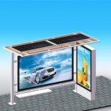 Alimentada a energia solar em Outdoors Bus Stop Shelter