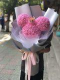 Mousse de PE fleur artificielle rose Bouquet de Mickey Mouse pour les enfants ou de son