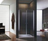Libre de douche en verre, boîtier simple salle de douche Salle de bains en verre