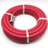 Tubo flessibile di gomma del Jackhammer dell'aria FT3/4 di colore rosso 50 per il servizio degli S.U.A.