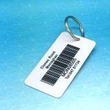 Código de barras etiqueta clave de la lealtad de PVC prnting