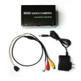 Día y Noche 520TVL Mini Cámara CCTV con 6 LED (Micro Tamaño: 14.5x14.5x15.5mm; 0.00lux)