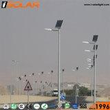 Certificación IEC 8m Polo de Iluminación Exterior Solar de la luz de la calle