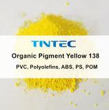 Желтый данные 138 для пластмассовых покрытием (отличное Dispersibility. Нагрейте стабильности)