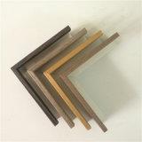 Chapa de madera aluminio Perfil de superficie para la imagen de la fábrica de Foshan