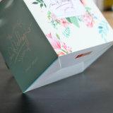 Piccolo alimento portatile di natale/contenitore regalo impaccante della caramella con la maniglia, sacchetto di acquisto