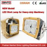 La contabilità elettromagnetica ha approvato gli indicatori luminosi di funzionamento quadrati del LED per le lampade del lavoro di estrazione mineraria della macchina dei camion