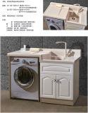 Banho de areia de quartzo vaidade Material Bacia para cima com máquina de lavar roupa