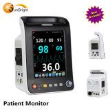 Interfaccia superiore Sun-600p di Masimo del video paziente di ECG/Resp/SpO2/NIBP/Temp/Pr