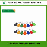 125kHz Em4100 Tk4100 플라스틱 아BS RFID Keyfob (꼬리표 02)