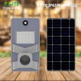lampada economizzatrice d'energia solare esterna del giardino LED della via dei prodotti 20W con il sensore di movimento