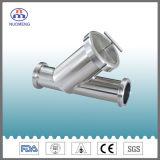 Gesundheitlicher Edelstahl geschweißter Y-Typ Grobfilter-Filter (NM100107)