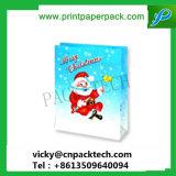 Christamas 축제 산타클로스 선물 포장 핸드백 서류상 선물 운반대 부대