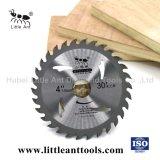 La lame de coupe de bois de carbure de TCT la lame de scie 4'' outils de coupe de diamant