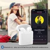 Apple iPhone x를 위한 비용을 부과 상자 Earbuds를 가진 2018년 Tws I7s 무선 침묵하는 디스코 이어폰