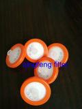 022UM 0,45 micron GF filtre seringue avec membrane en fibre de verre