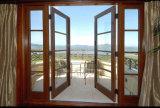 Finestra termica di Castment di vetro Tempered della rottura di Woodwin