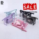 昇進多機能PVC透過装飾的な袋3PCS/は女性のためにセットした