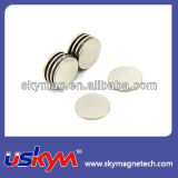 Strong NdFeB магниты диск формы /никель покрытием Редкоземельные магнита