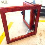 Doppelverglasung-einzelnes gehangenes Aluminiumfenster mit Sturm-Schärpe-Spur