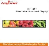 22 - de Duim TFT ultra rekte de Staaf wijd Uitgerekte Speler van HD LCD, LCD de Vertoning van de Reclame van de Advertentie uit