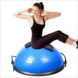 La mitad de bola del yoga, y Bosu Balance Trainer Ball con gancho