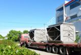Produtos químicos e resíduos de equipamentos marítimos da Placa de recuperação de calor do gás de ar tipo trocador de calor para a Caldeira de Recuperação de Calor