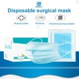 Gesichtsmaske der Wegwerfdes vliesstoff-3ply Qualitäts-weiße medizinische ISO13585 Bfe99 chirurgische des Doktor-Hospital mit Earloops