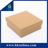 Contenitore di regalo quadrato durevole, contenitore riciclato di carta kraft, Contenitore di imballaggio del regalo con il coperchio
