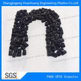 El 66% poliamida 25% de fibra de vidrio los gránulos de tiras de aluminio de plástico
