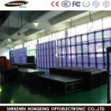 P5mm affichage LED en verre transparent avec 60 % de taux de transparent