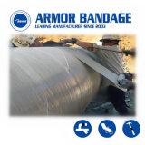 4inch 460cm velocemente curano il tubo industriale del PVC della perdita del nastro di difficoltà dell'involucro dell'armatura di riparazione del tubo di vetro di fibra che sposta il nastro