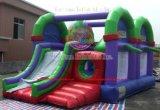 Emballage Gonflable Combo Bouncer château gonflable avec la diapositive