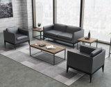 Sofà stabilito del salone dell'Europa Italia di stile del cuoio 1+3+1 del sofà moderno dell'ufficio