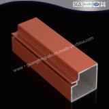 Perfil de aluminio para puertas de cocina con recubrimiento de polvo Color