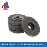 Rebarbar não tecidos de fibra de abrasivos Disco de polimento em 250x50mm