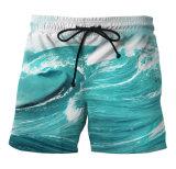 L'abitudine/ha personalizzato la sublimazione 100% di Shorts della spiaggia del poliestere/stampa sublimata/Shorts stampati scheda degli uomini/del ragazzo