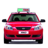 Taxi Taxi LED pantalla LED de señalización del techo de la Cartelera Taxi