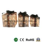 Enciende la caja de regalo de Navidad