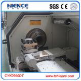 Tubo de agua PVC PE tubería de corte de rosca máquina Cyk0660dt