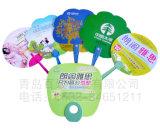 Дешевые рекламируя вентиляторы руки изготовленный на заказ пластичного подарка промотирования лета вентилятора малые