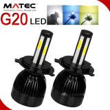 Bulbos H4 de la linterna del CREE LED de los bulbos 80W 8000lm de la linterna del coche LED del recambio de la motocicleta para el coche