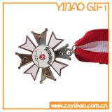高品質の締縄が付いているカスタム金属メダル