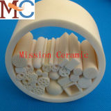 Mission personnalisé Poro Alumina Ceramic