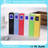 externe Duftstoff-Energien-Bank der Batterie-2600mAh mit LED-Bildschirmanzeige (ZYF8059)