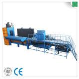 Hydraulische het In balen verpakken van de Scheerbeurt van het Metaal van het Afval Op zwaar werk berekende Machine
