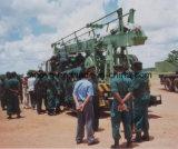 Camion de SIN400st monté, plate-forme de forage rotatoire de puits d'eau de profondeur de 400m
